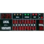 MDG-BSB D25 - Marcador de Beisbol y Softball