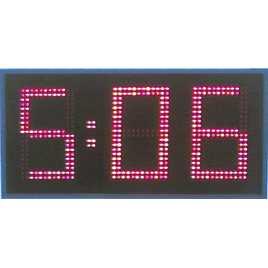 MDG CRN31S - Cronômetro Esportes intempéries três dígitos de um só lado