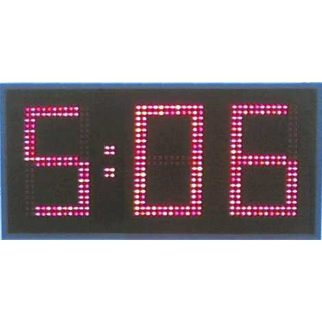 MDG CRN31S - Cronometro Deportivo para intemperie de tres digitos a una cara