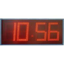 MDG CRN42B - Cronometro Deportivo para intemperie de cuatro digitos a doble cara