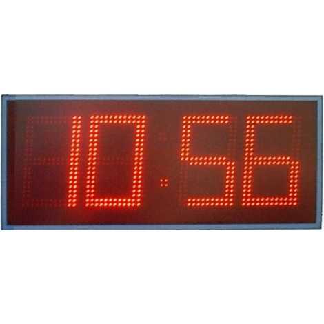 MDG CRN41B - Cronometro electronico deportivo para intemperie de cuatro digitos a una cara