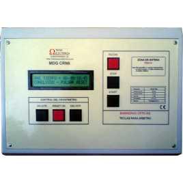 MDG CRN 62B - Cronometro electronico deportivo para intemperie de seis digitos a doble cara