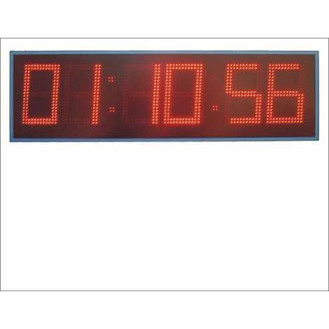 MDG CRN62N - Cronometro electronico deportivo para intemperie de seis digitos a doble cara