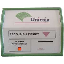 STN IM1Z - Module printing tickets Take a number to A area