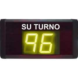 STN D72SMY - Take a number deux chiffres et pilotage par système radio