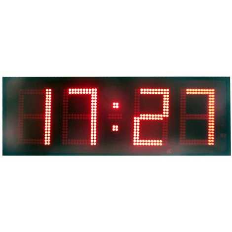 MDG CRN41S - Cronómetro electrónico deportivo para intemperie de cuatro dígitos a una cara