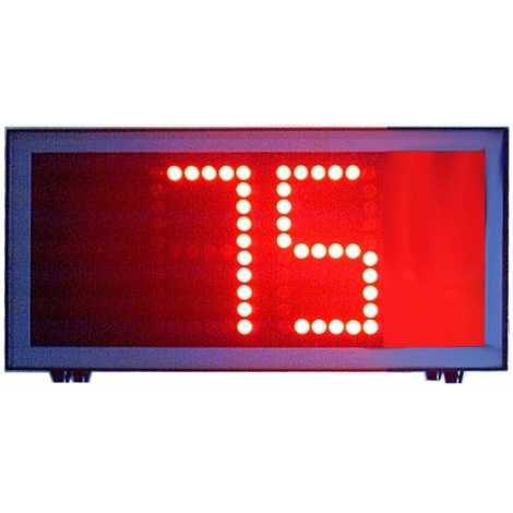 CNTG 2B - nombre d'impulsions 2 chiffres de 50 cm. hauteur
