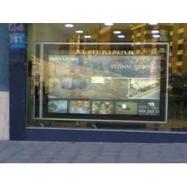 SECAN 3 - Display of large format rotating advertising