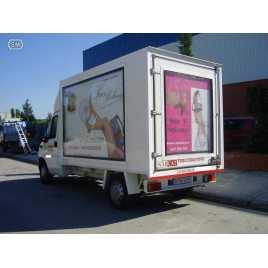 SECAN 4 - Display of large format rotating advertising