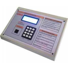 DPG 4NW - Affichage électronique à led en blanc 27 cm. de haut pour les stations-service