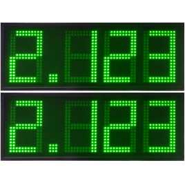 DPG 4NV - Display de leds indicadores de precios para gasolinera
