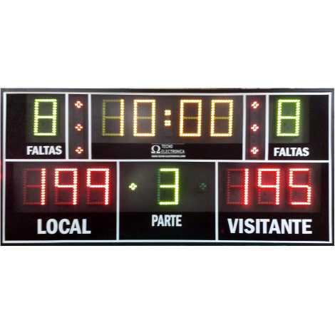 MDG Mini Sport13 - Marcador electrónico portátil con 13 dígitos
