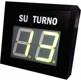 STN D72NMV - Su turno de dos cifras en color verde vía radio