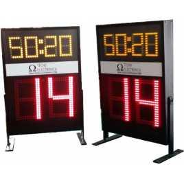 MDG SEG3 - Segnapunti elettronico visualizzatori dei 24 secondi. Cifre 34 e 18 cm. altezza