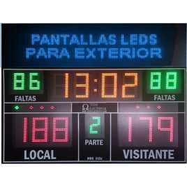 MDG D15J - Electronic scoreboard sport with 15 digits