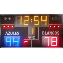 MDG WAT D10N - Water polo scoreboard digits equipped with 27 cm. high