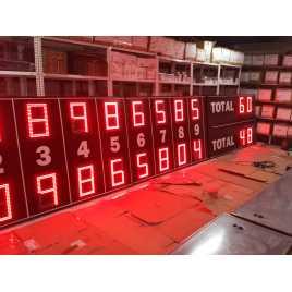 MDG D28R BSB - Placar eletrônico de Beisebol e Softbol com 28 dígitos