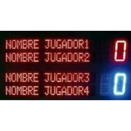 MDG FRONT D4N - Electronic scoreboard for Fronton and Ball