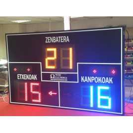 MDG FRONT D6S - tableau de bord électronique pour le sport de pelote et Fronton