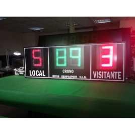 MDG EXT D4RB - Electronic placar exterior esportivo de quatro dígitos