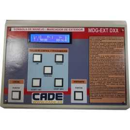 Marcador electrónico de fútbol, hockey, rugby y polo modelo MDG EXT D4TB