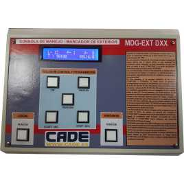 MDG D4TB EXT - Segnapunti elettronici da esterno per calcio a quattro cifre