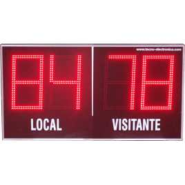 MDG EXT D4TS - Electronic scoreboard Outdoor four digits of 18 cm. height