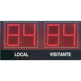 MDG EXT D4TS - Electronic Sports placar ao ar livre quatro dígitos de 18 cm. altura