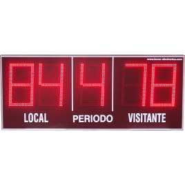 MDG EXT D5B - Electronic placar ao ar livre ostentando cinco dígitos