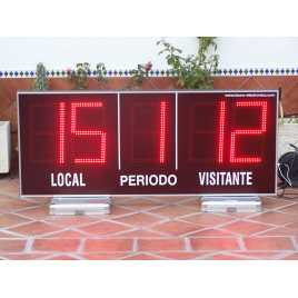 MDG EXTD5N - Electronic scoreboard sports outdoor five-digit