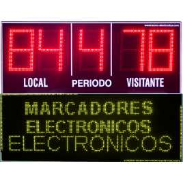 MDG EXTD5S - Electronic scoreboard sports outdoor five-digit