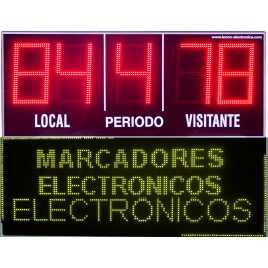 MDG EXT D5S - Electronic placar ao ar livre ostentando cinco dígitos