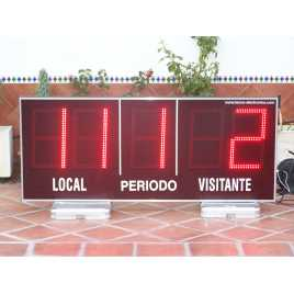 MDG EXT D5S - Electronic Sports Outdoor Scoreboard five digits