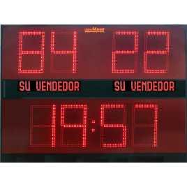MDG EXT D8B - Tableaux d'affichage sportif d'extérieur avec huit chiffres