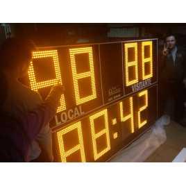 MDG EXTD8N - Tableaux d'affichage sportif d'extérieur avec huit chiffres