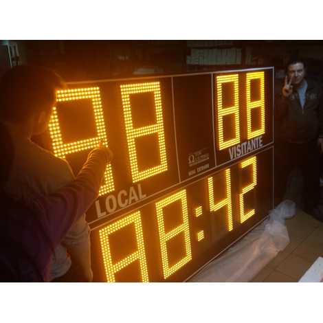 MDG EXTD8N - Electronic scoreboard Outdoor Scoreboard eight digit