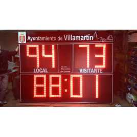 MDG EXTD8S - Electronic scoreboard Outdoor Scoreboard eight digit
