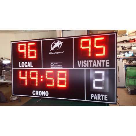 MDG EXTD9S - Tableaux d'affichage sportif d'extérieur avec neuf chiffres
