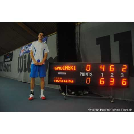 MDG TN5SS - Tableaux d'affichage d'extérieur pour Tennis tableau avec 5 jeux.