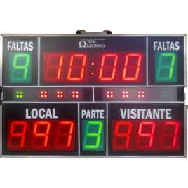 MDG D13JP - Portable Electronic Scoreboard sports with 13 digits