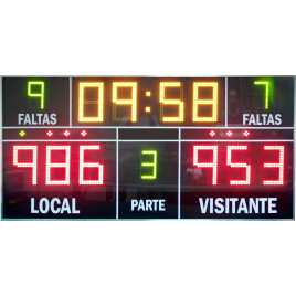 MDG D13J - Marcador electrònic esportiu amb 13 Dígits