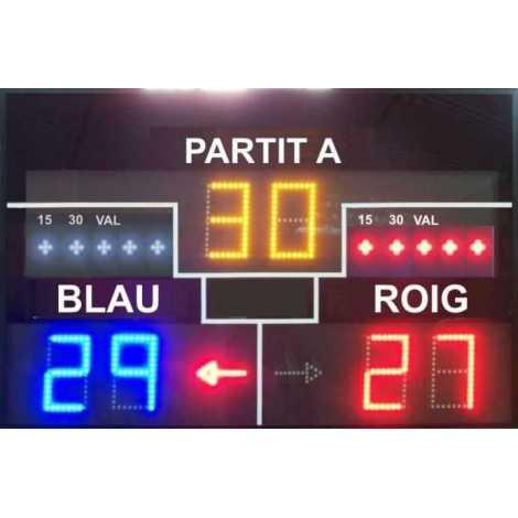 MDG VAL D6S - Electronic scoreboard Valencian ball
