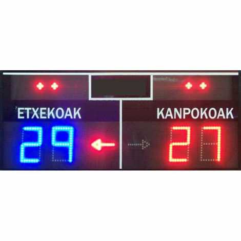 MDG FRONT D4S - Electronic scoreboard for Fronton and Pelota