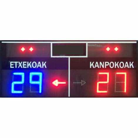 MDG FRONT D4S - tableau de bord électronique pour le sport de pelote et Fronton