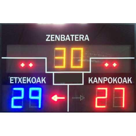 MDG FRONT D6N - tableau de bord électronique pour le sport de pelote et Fronton
