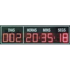 CNTD 9S - Comptador de dies amb dígits de 10 cm. d'alçada