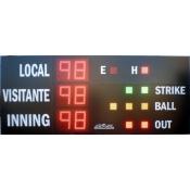 Marcador de Beisbol y Softball MDG- BSB D6