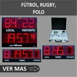 Marcadores electrónicos de Fútbol / rugby / hockey