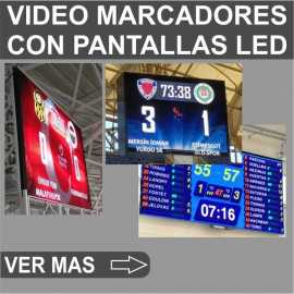 Marcadores de esportes em vídeo