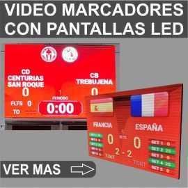 Video marcadores deportivos